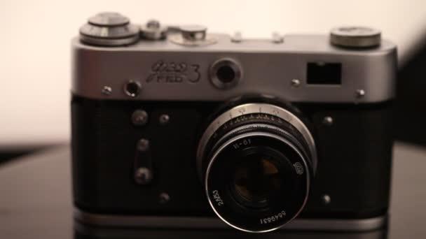 fotocamera vecchio stile