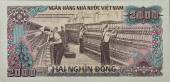 Valuta Vietnam - Dong vietnamita. Banconota da due mila dong