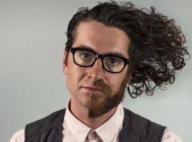 Half Beard Split