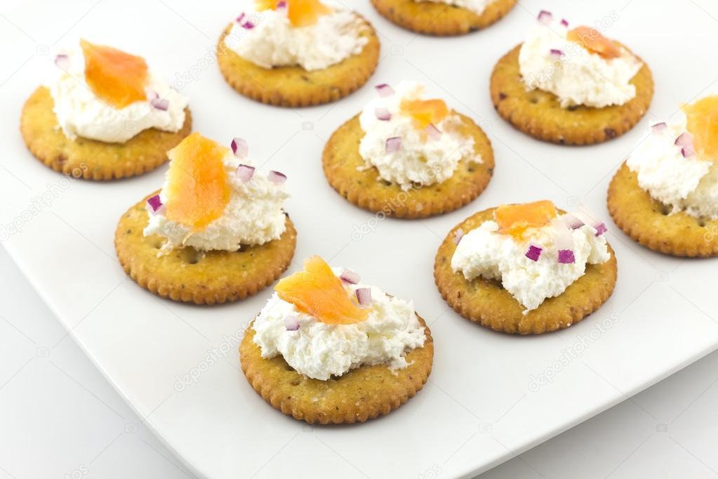 Imagenes De Queso Crema: Queso Crema Y Galletas Saladas