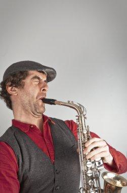 Saxophone Musician