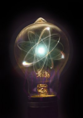 Lightbulb Atom Particle