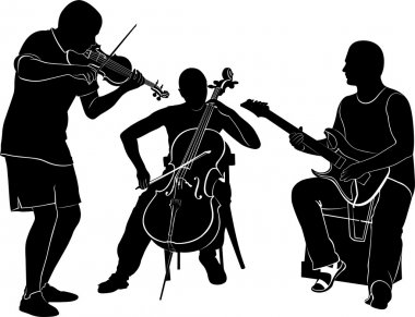 drawing musicians performance