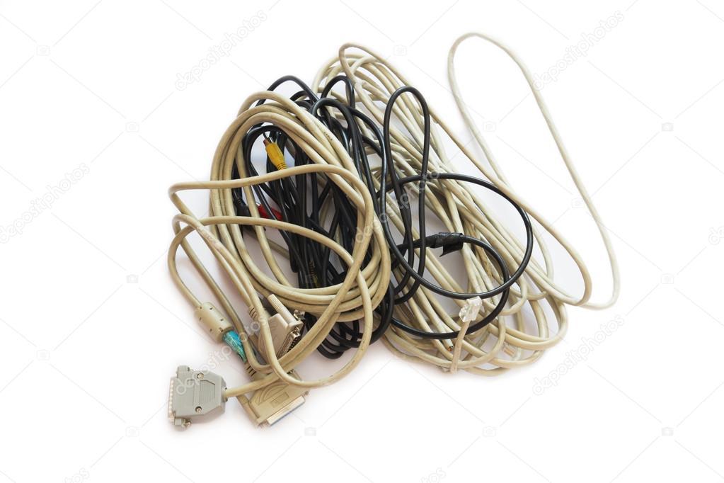Computer Plugs. — Stock Photo © karich #56519251