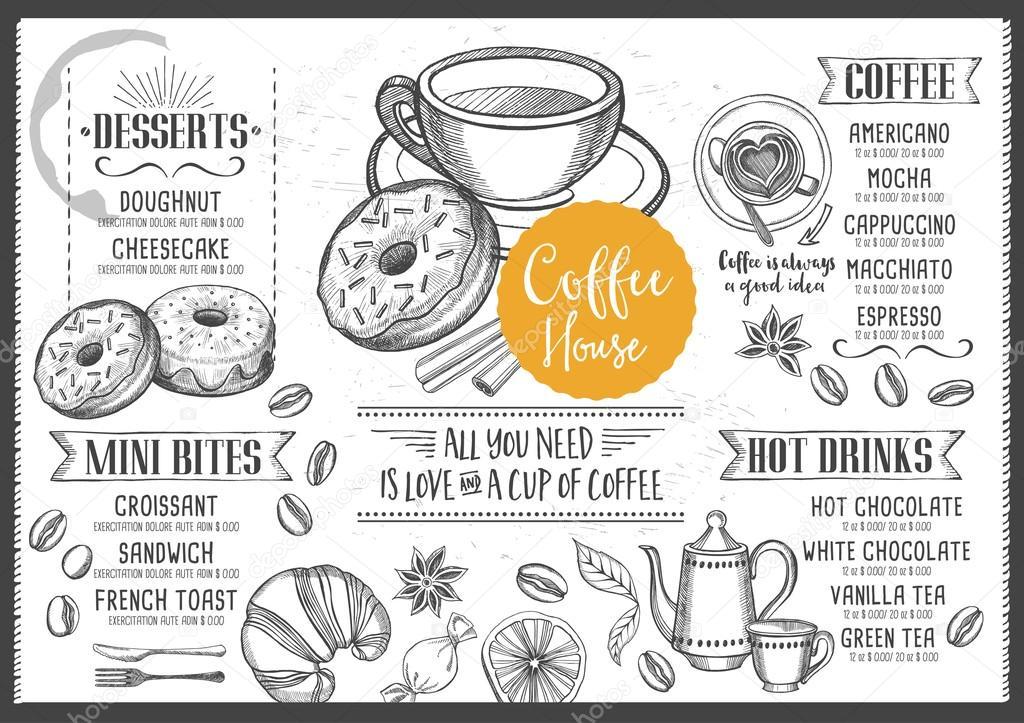 Od Cafe Menu
