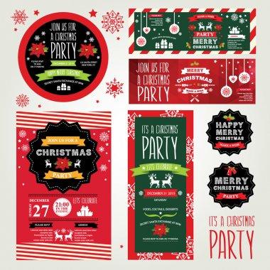Invitations Merry Christmas.