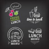 Polední menu, restaurace design
