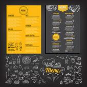 Photo Restaurant cafe menu