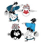 Obrázek pozdrav série Vítejte v Japonsku