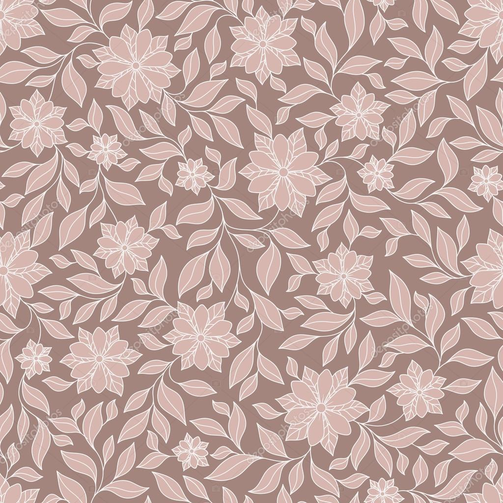 Henna Mehndi Tattoo Doodles Seamless Pattern Paisley Flowers Il