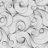 Fotografie Nahtlose Muster für Malbuch