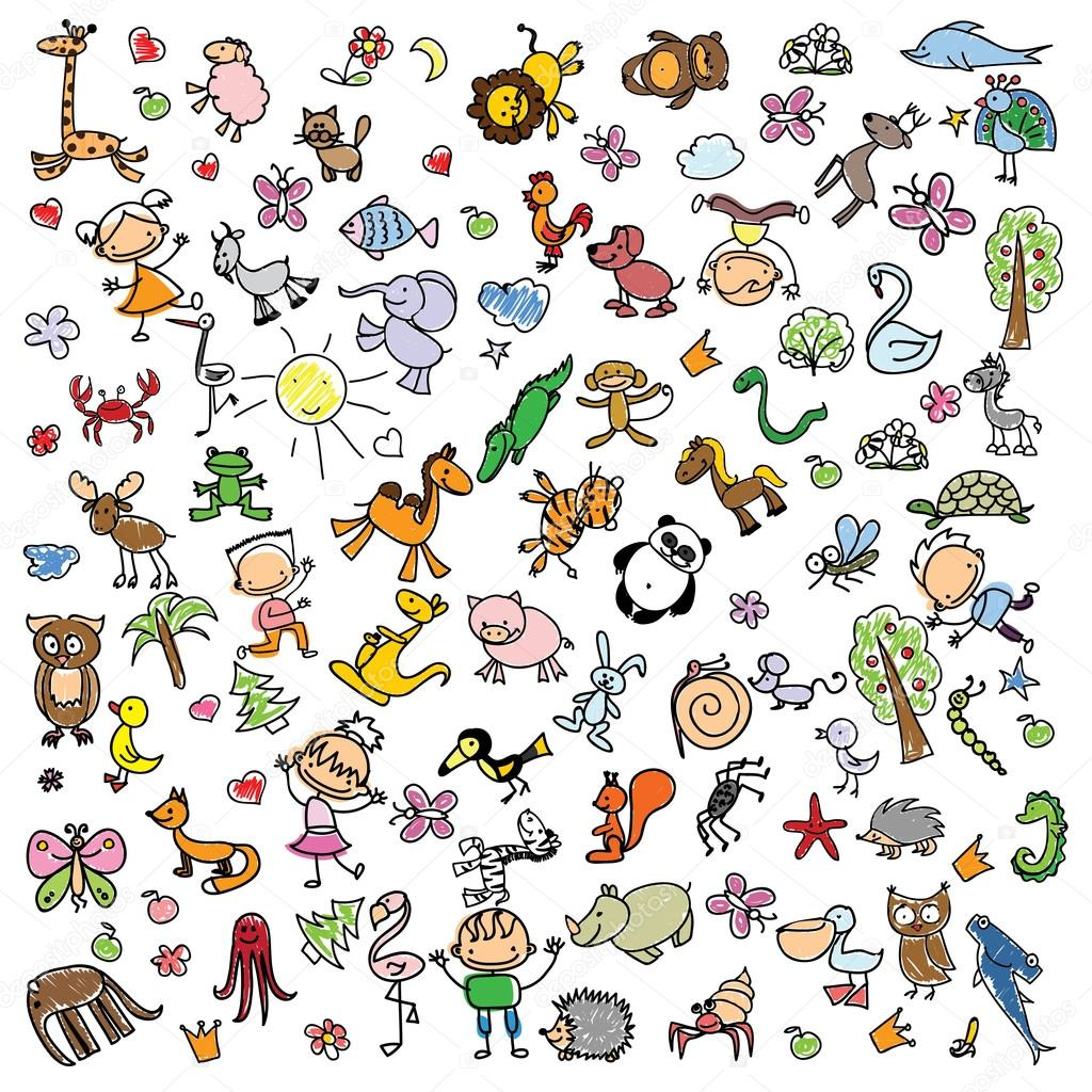 disegni per bambini di animali