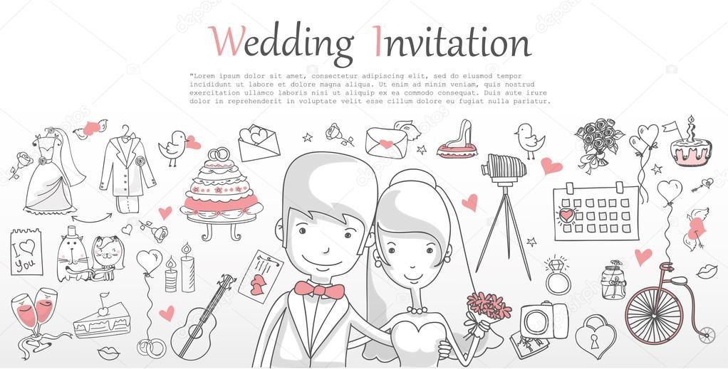 wedding banner template stock vector virinaflora 104099642