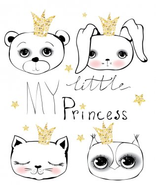 Cute little princess set