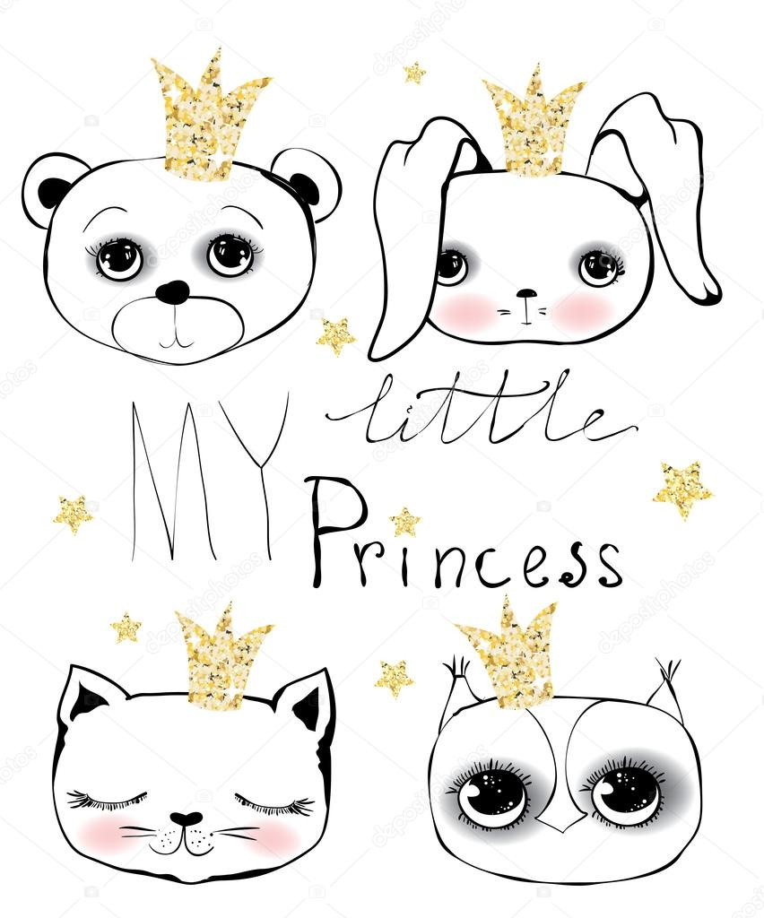Cute little princess set