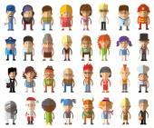 Ikony avatar znaků