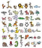 Fényképek Doodle állatok rajzai