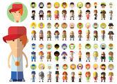 karakter avatar ikonok
