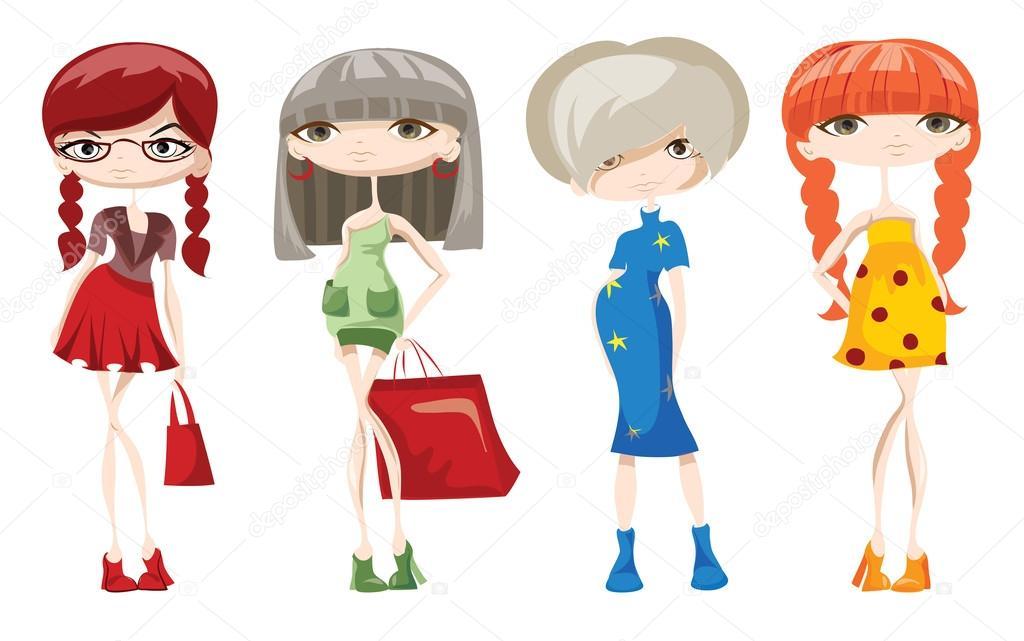 Imágenes: Fashion Animadas