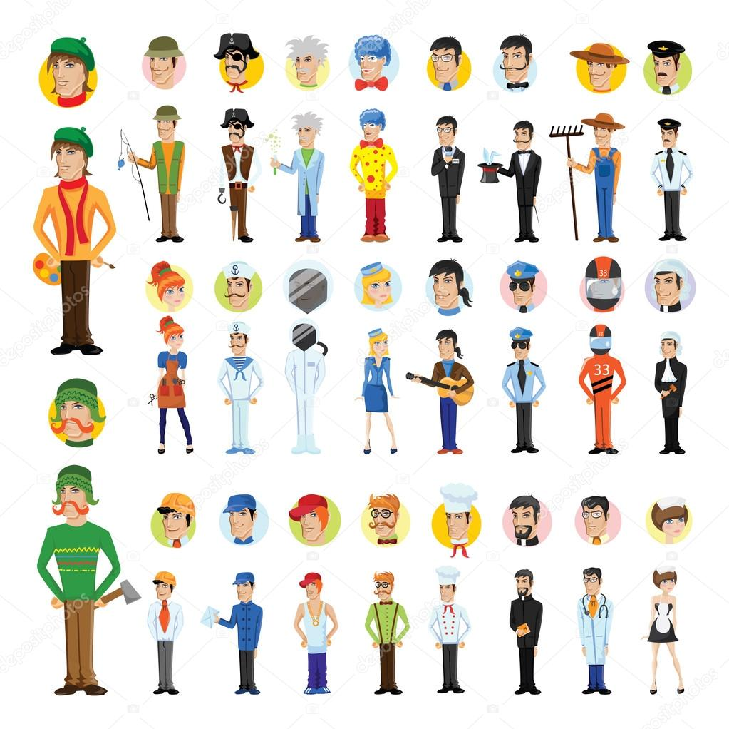 картинки символов профессий