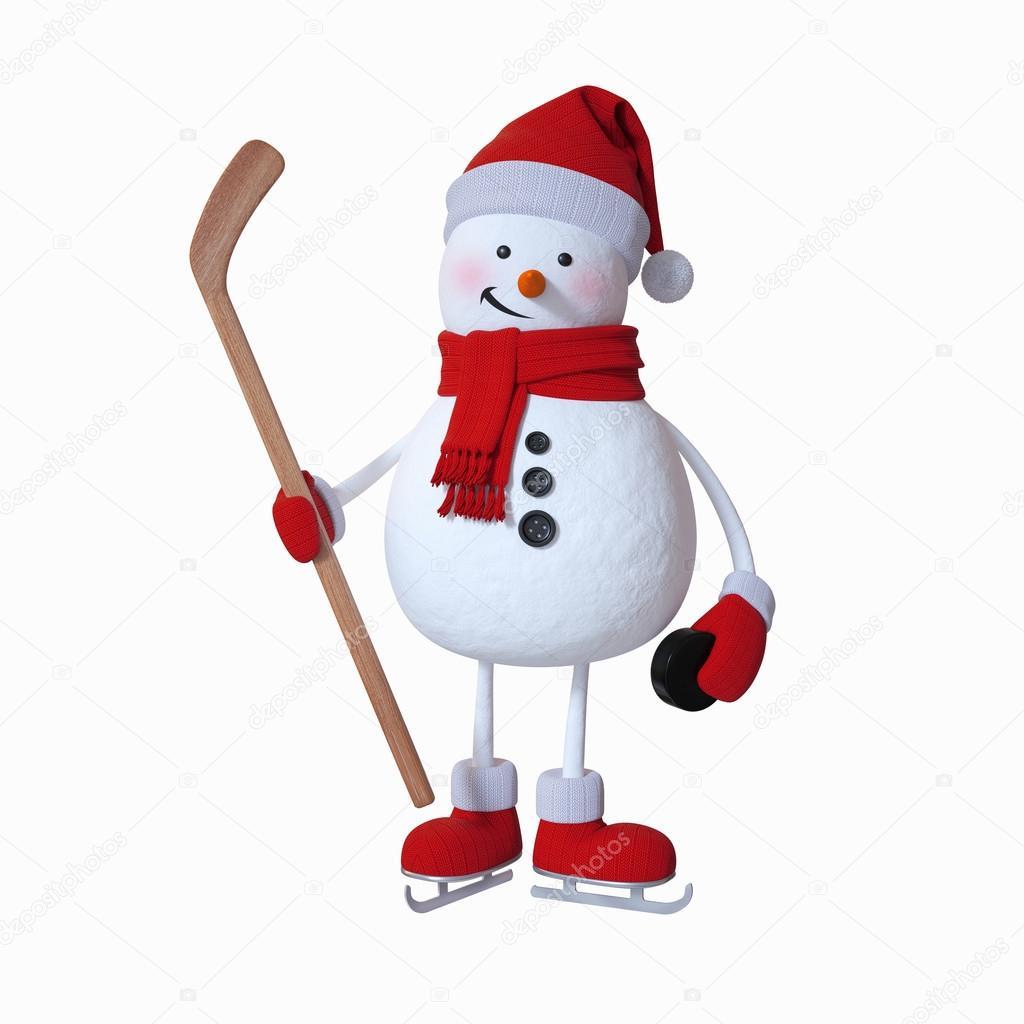 хоккей картинки снеговик что весь банкет