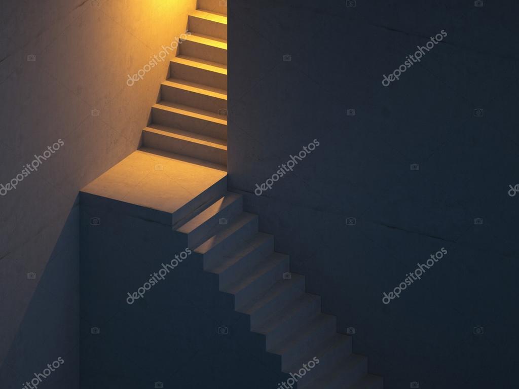 Abstracte trap achtergrond u stockfoto wacomka