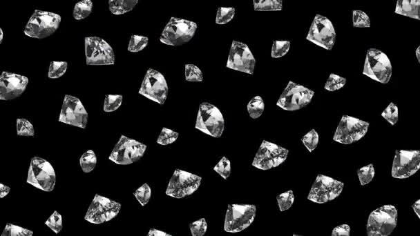 3D kristály gyémánt és gyémántok