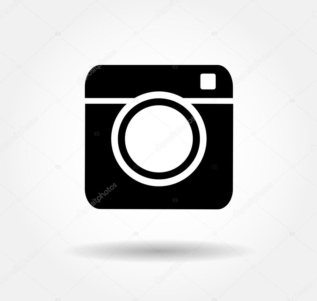 Hipster Camera Photo Vector Button Illustration Eps 10jpgjpeg