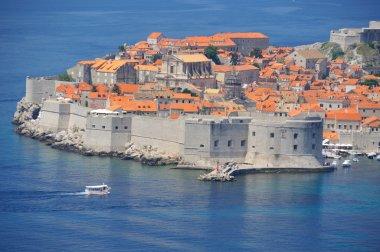 town of Dubrovnik in Croatia