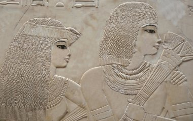 couple in the Tomb of Ramose