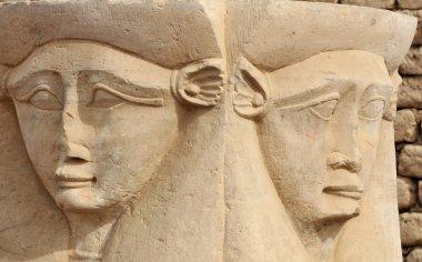 Hathor temple at Dendera  in Egypt