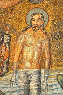 Baptism of Jesus, magnificent mosaic