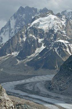 a glacier (the mer de glace)