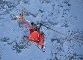pohled na horu vrtulník