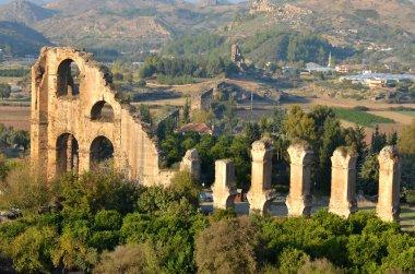 Remains of  ancient massive aqueduct