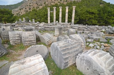 Ancient greek temple of Athena