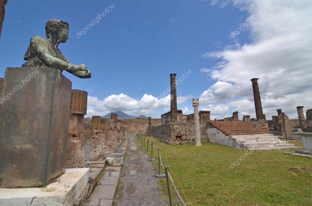 Ancient bronze statue