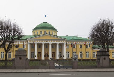 Tauride Palace. Headquarters of the Interparliamentary Assembly States - participants of the Commonwealth of Independent States. St. Petersburg