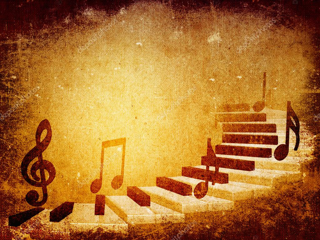 Music grunge background
