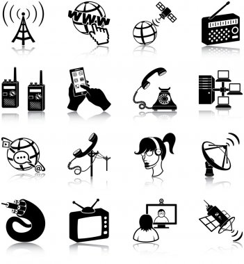 Communication related icons