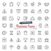 Obchod-ručně tažené ikony