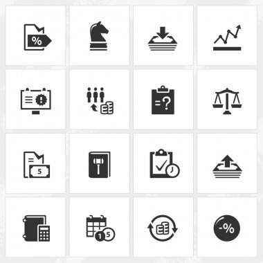 Business Enterprise Icons