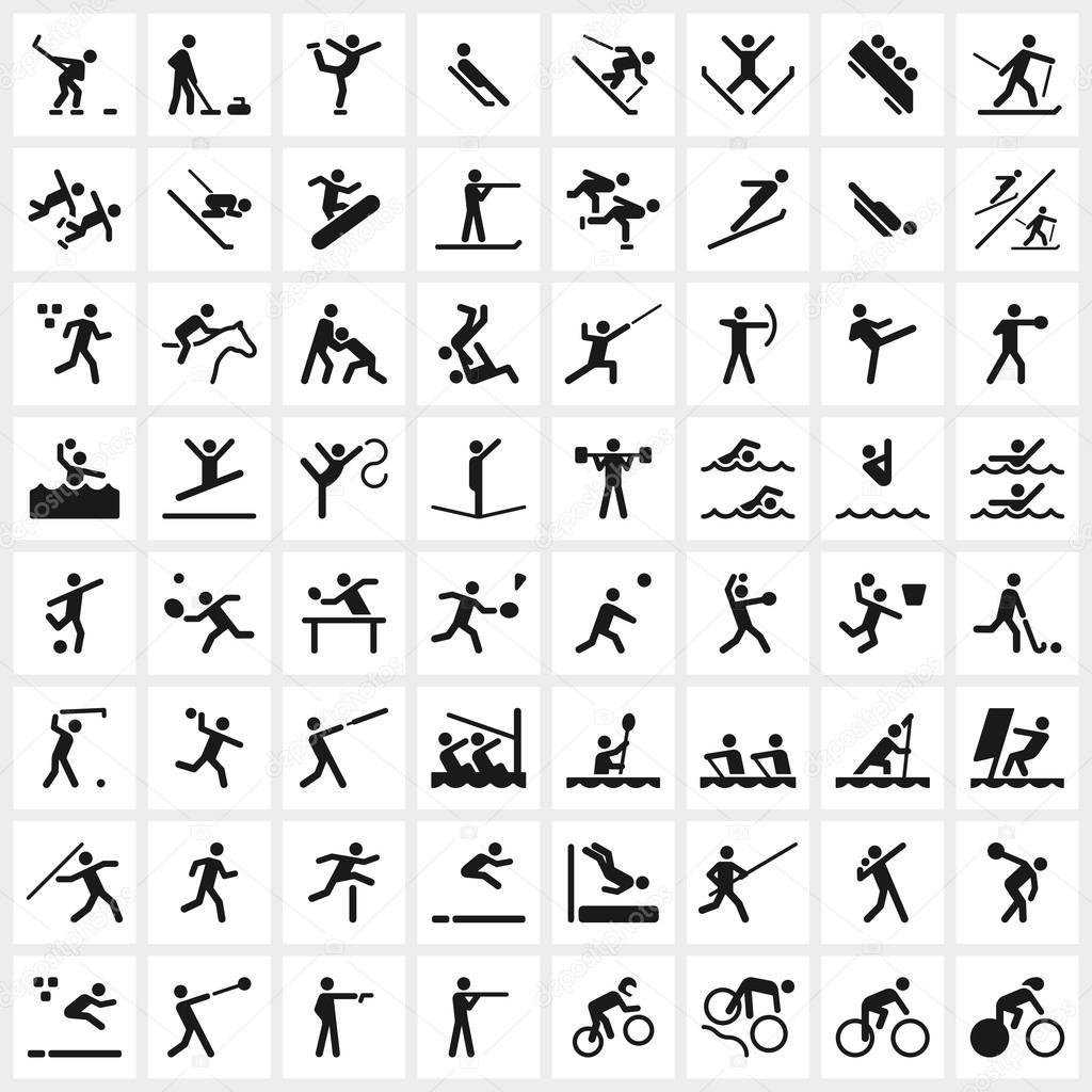 Sport symbols stock vector cajoer 66002549 sport symbols stock vector biocorpaavc