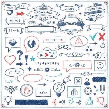 Hand Drawn Design Elements