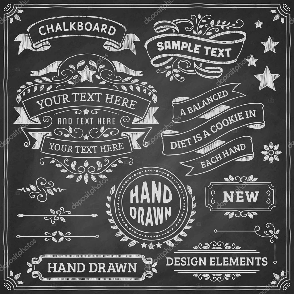 Elementos Del Diseño De La Pizarra