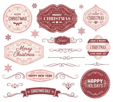 Christmas Labels and Ornaments