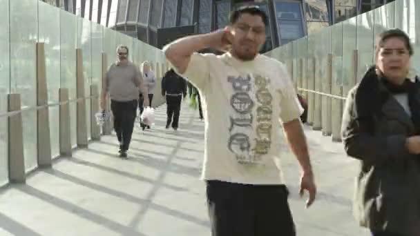 Pedestrian Bridge In Las Vegas