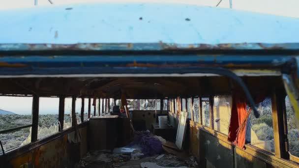 Abandon Bus In The Mojave Desert