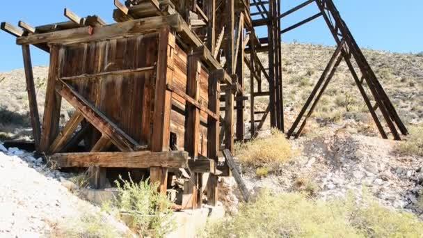 Důl v poušti Mojave