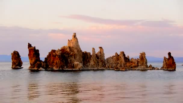 Scenic Mono Lake California at Sunset